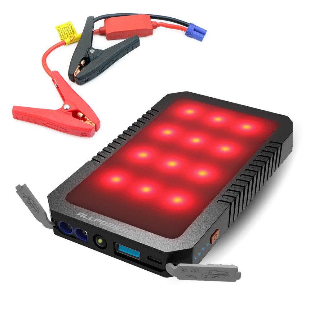 Arrancador de Coche A ALLPOWERS Portable Car Jump Starter Power Bank Hasta