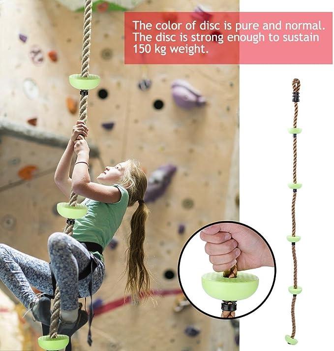1.8 m 5 Escalada Cuerda, Cuerda para escalar Niños Patio de ...