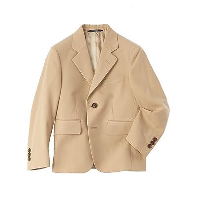 Brooks Brothers Boys Boys' Khaki Suit Jacket, 4, Beige
