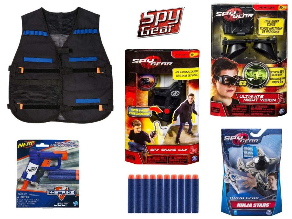 Spy Gear Gamma Mission Kit Extreme Secret Agent Tool Set Bundle, Night Vision Goggles, Tactical Vest, Spy Blaster, Camera by Spy Gear Mission (Image #2)