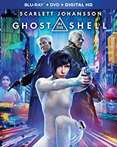 Cover Image for 'Ghost in the Shell [Blu-ray + DVD + Digital HD]'