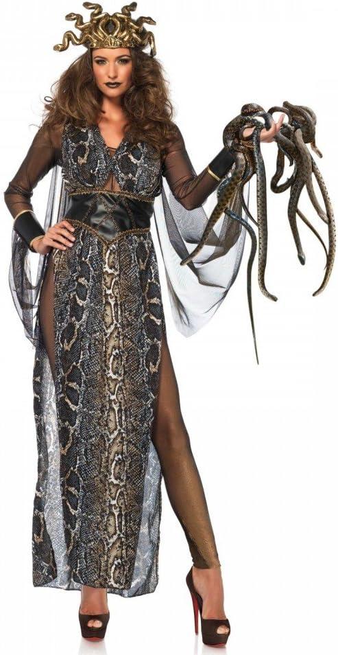 shoperama Medusa para Disfraz de Mujer de Leg Avenue serpentinas ...