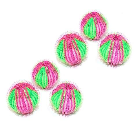 Cueyu - Bola de lavado antipelo reutilizable para lavadora (6 ...