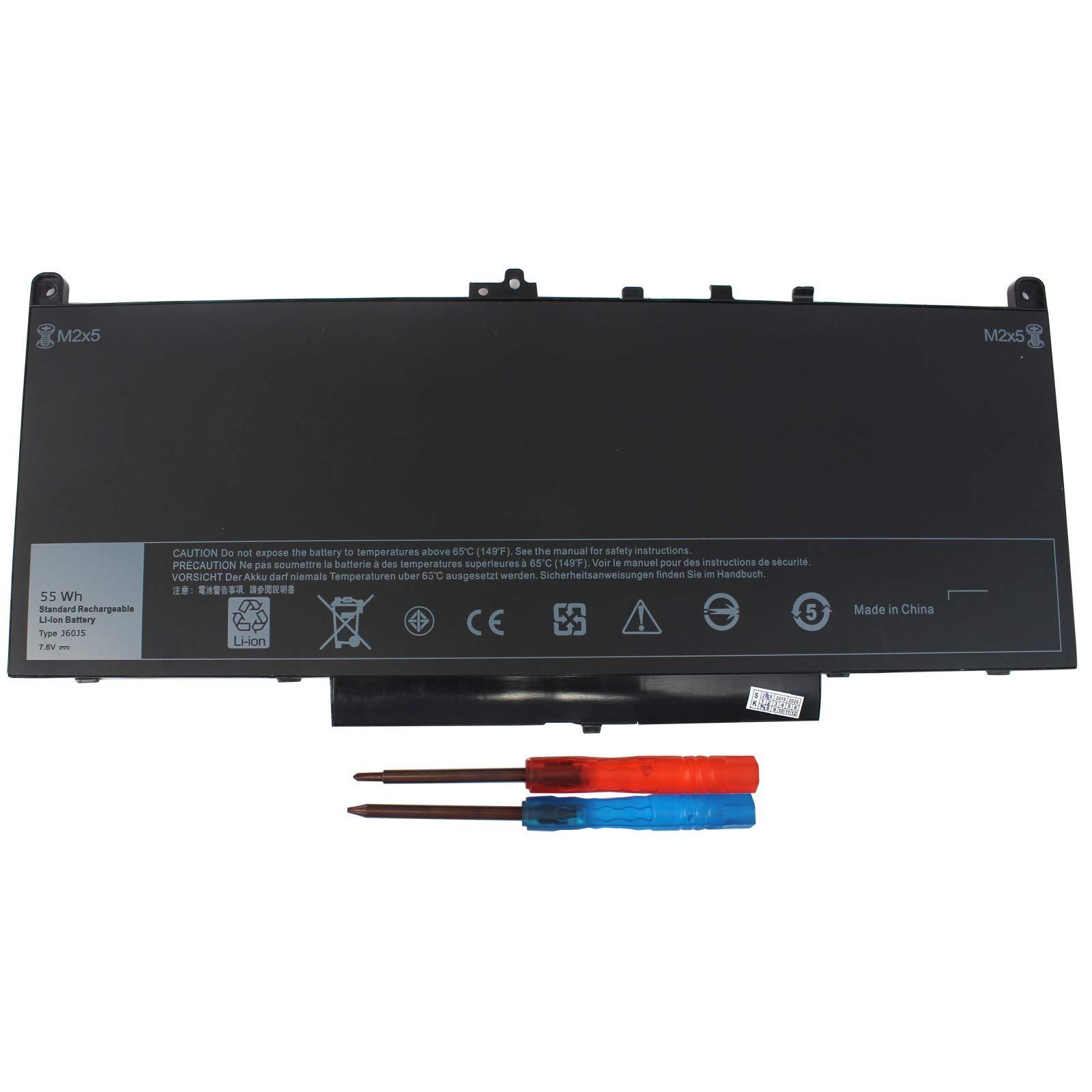 Bateria J60j5 Para Dell Latitude E7270 E7470 Series 7.6v 55wh