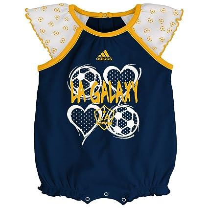 Amazon.com  adidas Los Angeles Galaxy Infant Bodysuit Baby Snapsuit ... b081a4c2d