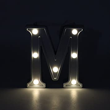 diy led night light batman wall light led night light for kids diy marquee letterslight up letter decoration amazoncom