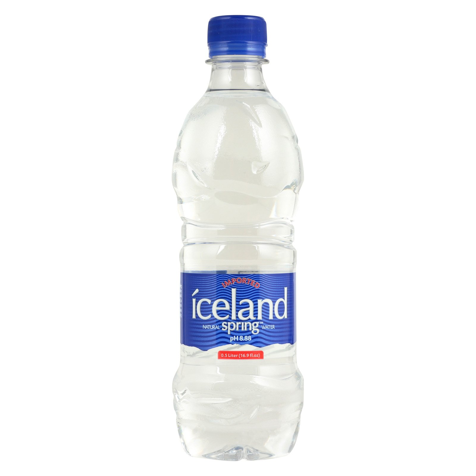 Iceland Springs Spring Water - Case of 24 - 16.9 Fl oz.