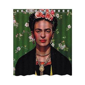 Dilipvu Pernalized Frida Kahlo Self Einzigartige Gemalde Badewanne Decor Duschvorhang Polyester 1676 X