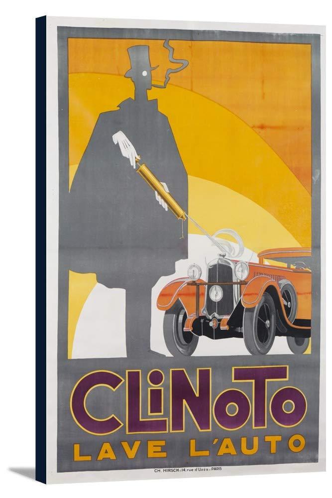 CLINOTOヴィンテージポスターフランスC。1932 23 1/2 x 36 Gallery Canvas LANT-3P-SC-58198-24x36 23 1/2 x 36 Gallery Canvas  B018SIT3VC