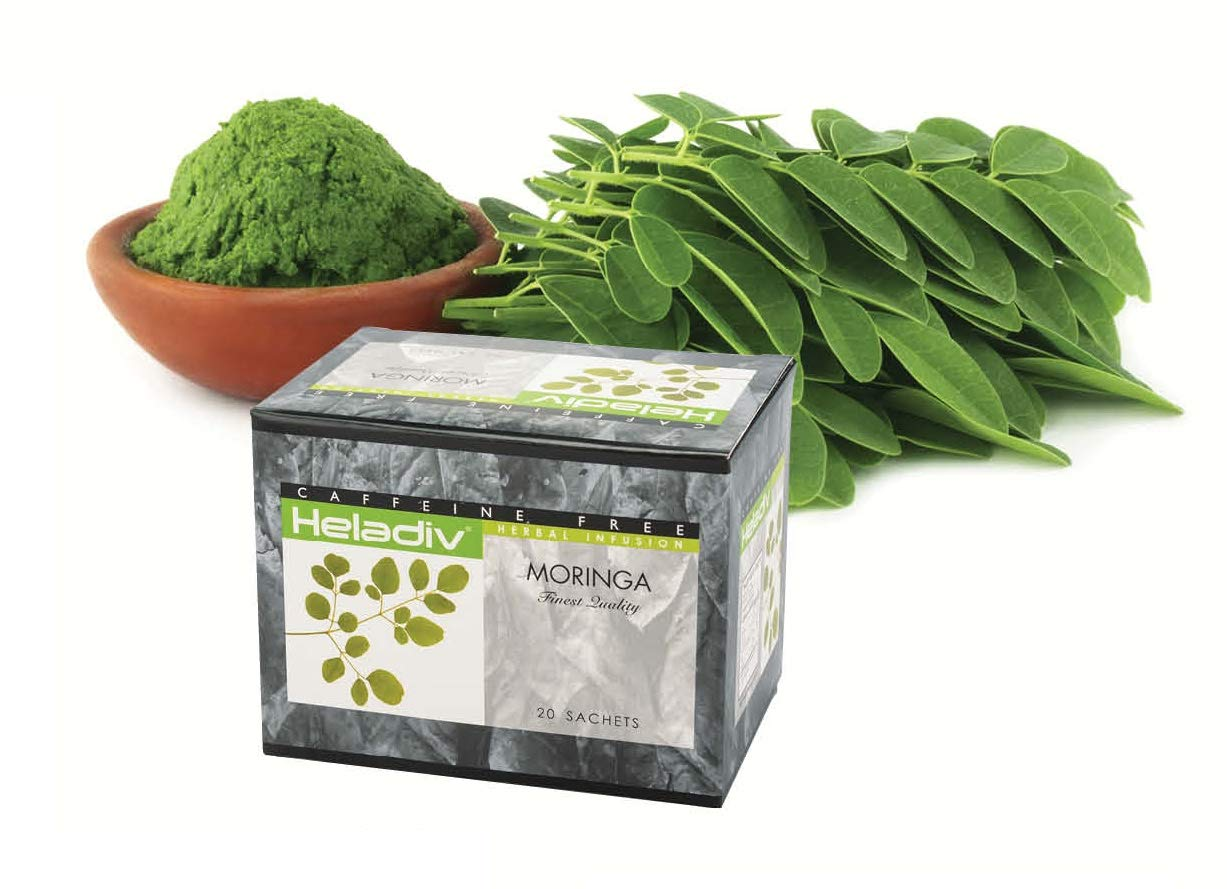 HELADIV Organic Moringa Superfood Tea