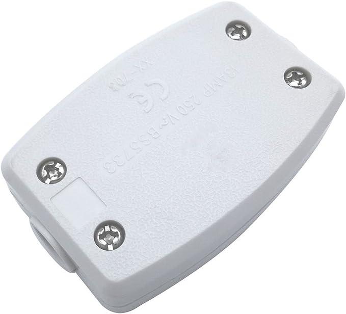 Paquete de 2 Unidades Derivación Eléctrica 3 Terminal Conector De ...