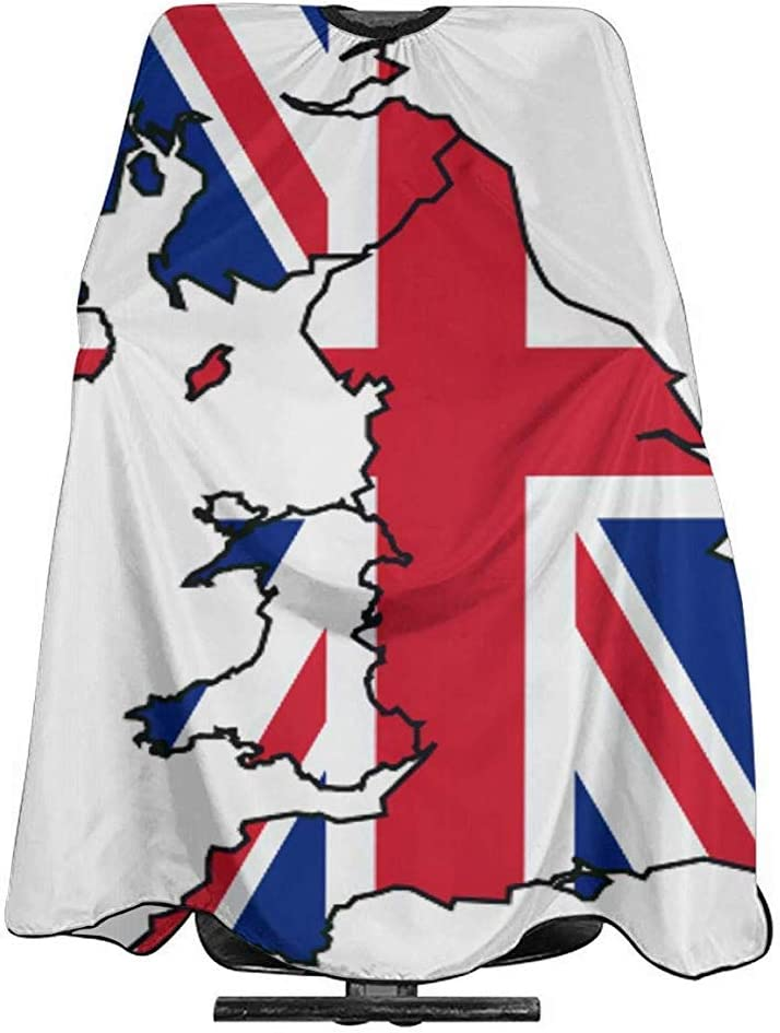 Capa Del Salón Bandera De Inglaterra Corte De Pelo Capa ...