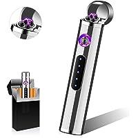 Punvot Elektrische Aansteker, USB Elektronische Aansteker, Plasma Aansteker Touchscreen Oplaadbaar Winddicht Aansteker…