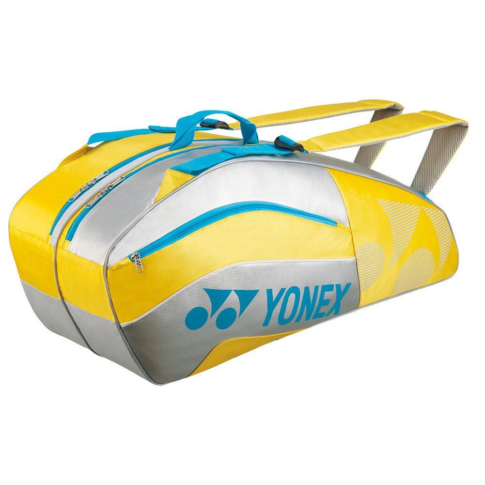 ヨネックストーナメントアクティブシリーズラケットバッグ – イエロー B00TBSVJO8
