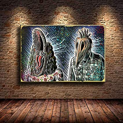 Art print poster//Canvas Tim burton Films Beetlejuice Movie