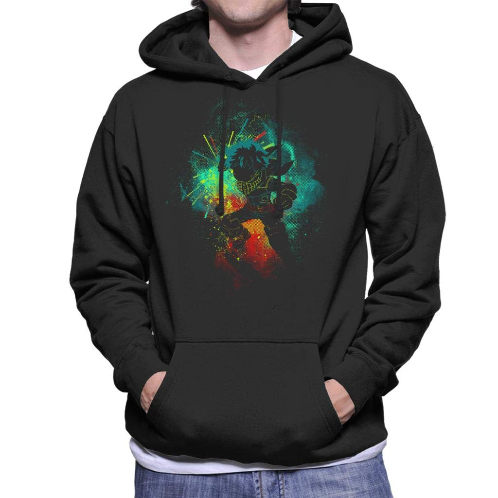 FANERR My Hero Deku Hoodie Sweatshirt Cosplay Costume