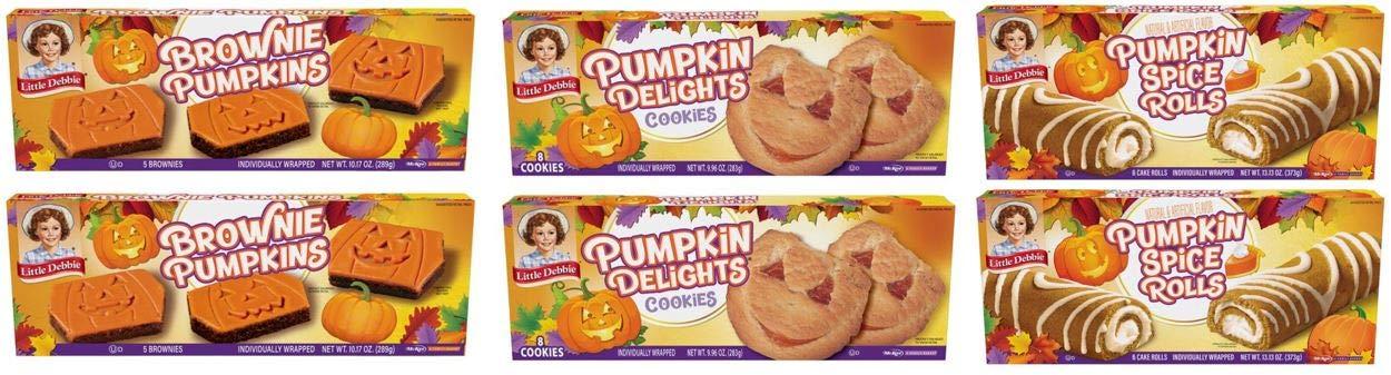 Little Debbie Fall Pumpkin Pack by Little Debbie