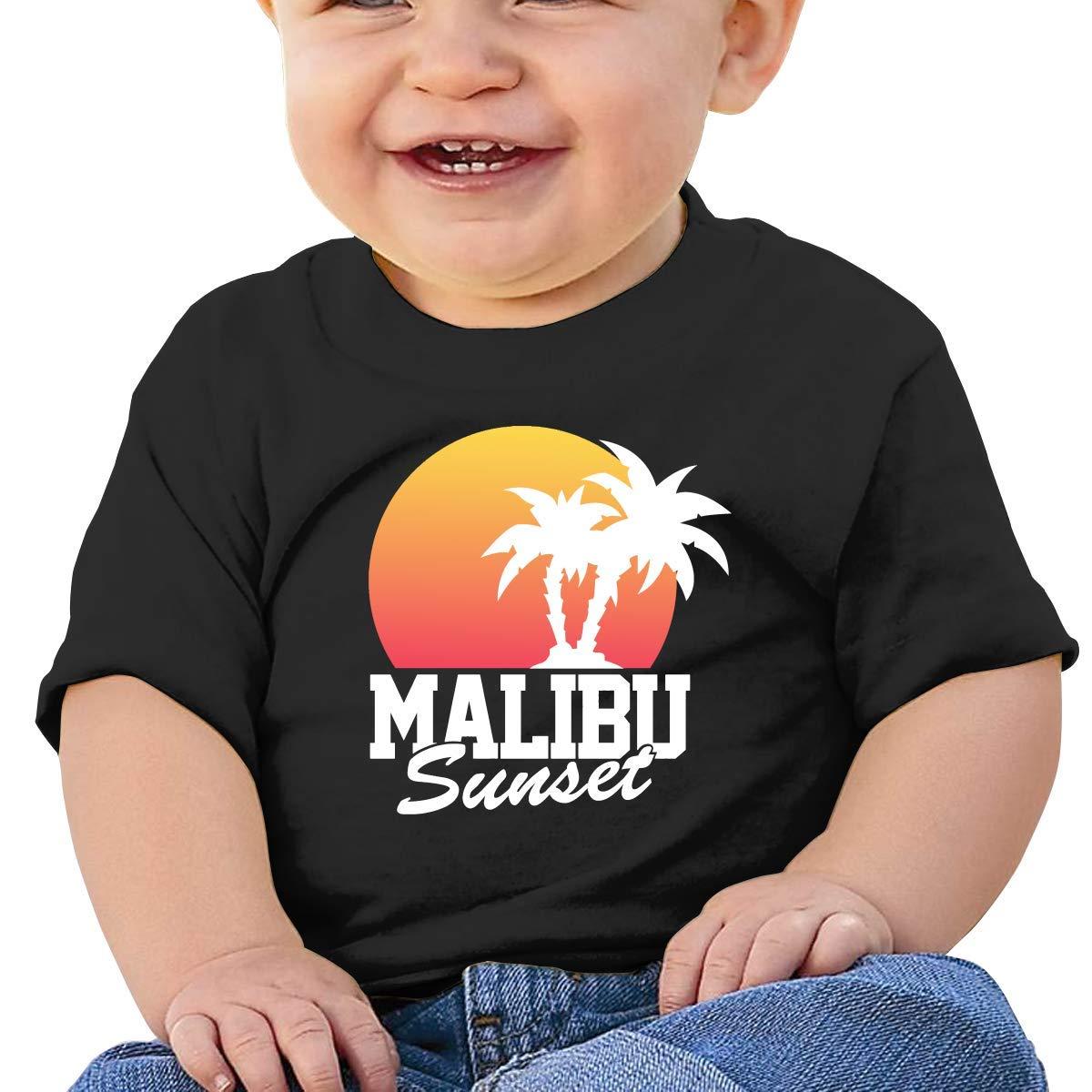 ZhuHanug Patriotic Pitbull American Flag Newborn Baby Short Sleeve Crew Neck T Shirts