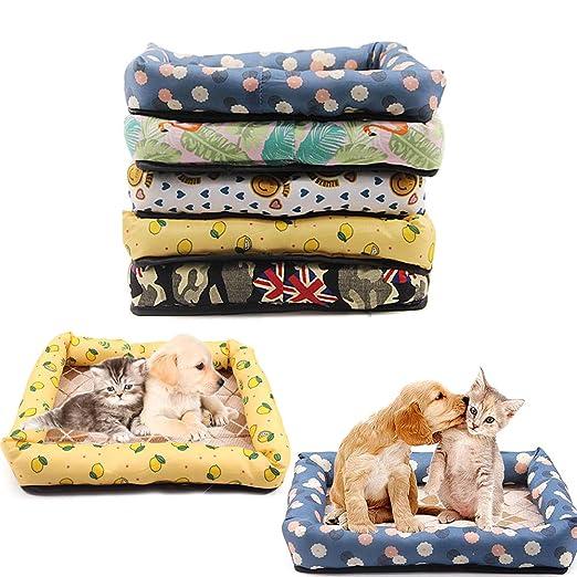 ddellk Cama del Perro casero, Perrera Suave para Perro pequeño y Mediano: Amazon.es: Productos para mascotas