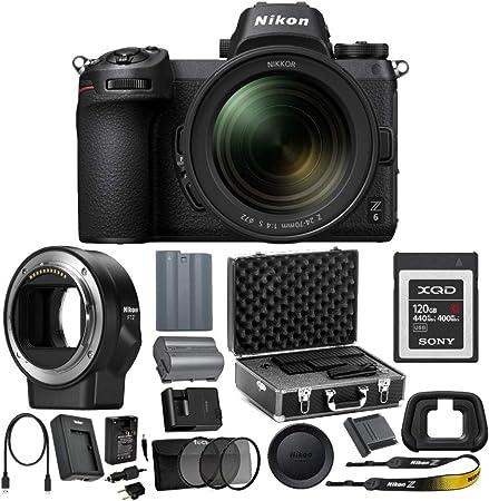 Amazon.com: Nikon Z6 - Cámara digital sin espejo con lente ...