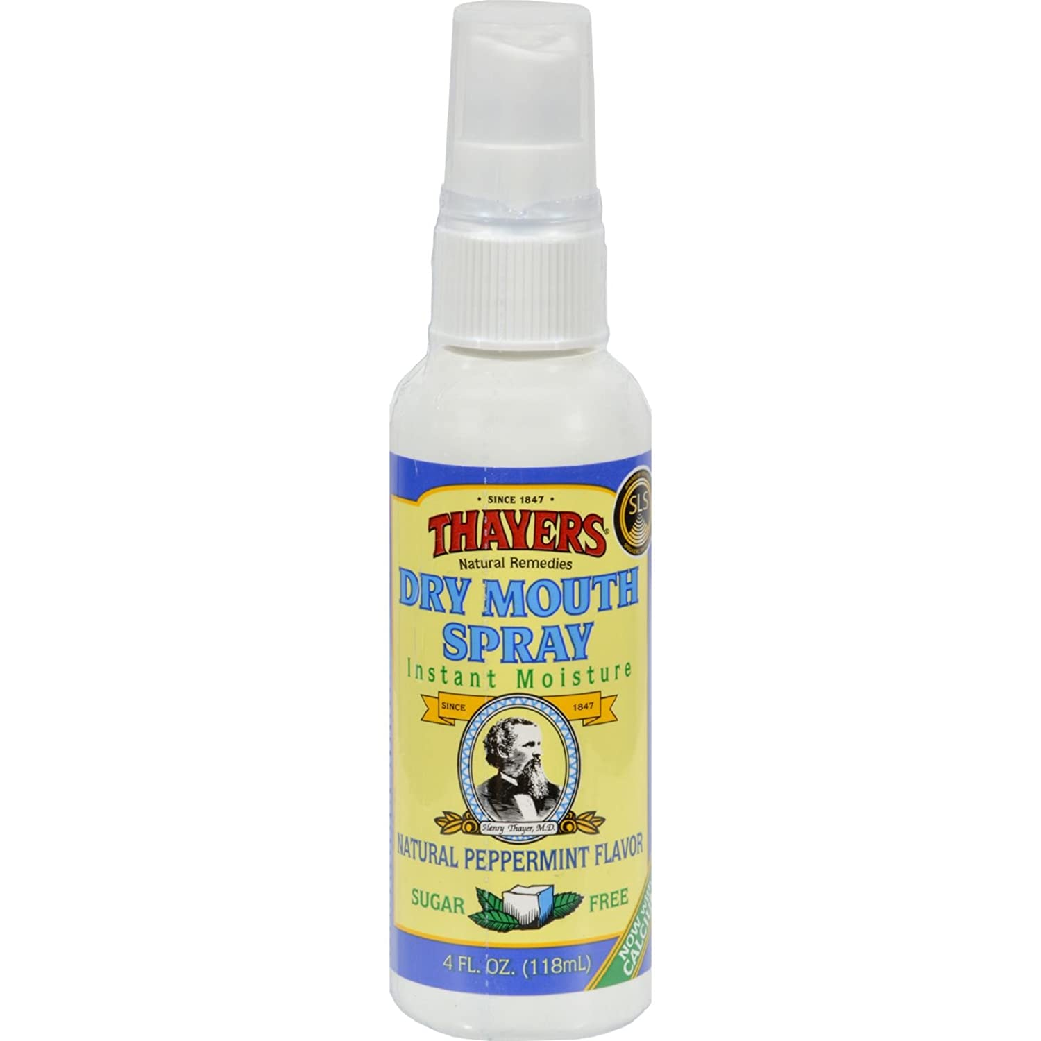 Thayer, Henry Dry Mouth Spray - Peppermint, 4 Oz ( 2 Pack )