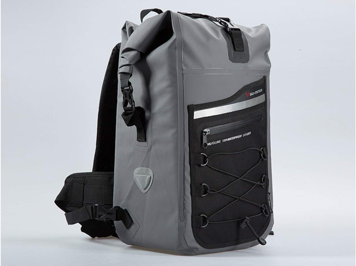 Sw Motech Drybag 300 Rucksack 30l Grau Schwarz Wasserdicht Auto