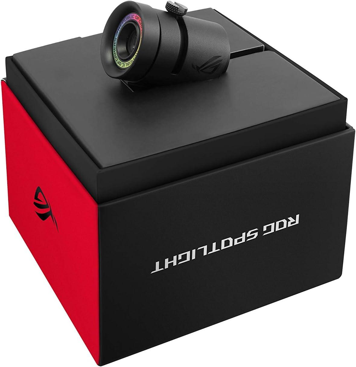ASUS ROG Spotlight - Proyecta el Logotipo ROG, conexión por USB y Aura Sync RGB LED: Asustek: Amazon.es: Informática