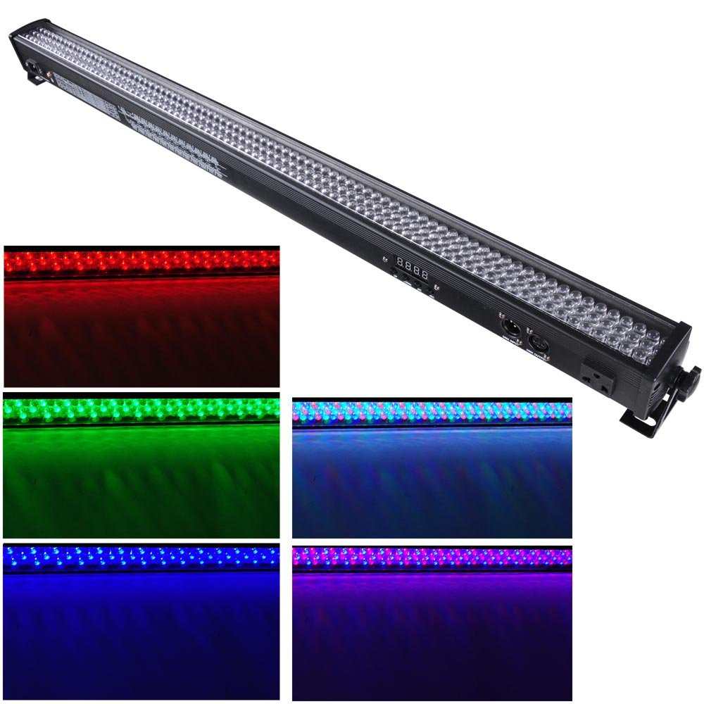 AW 252 LED 40'' Wall Washer DMX512 Bar Flood Light 36W 4 Channel RGB DJ Club Wed Party Disco Stage Show 26 Channel Mode 6 by AW