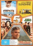 Little Miss Sunshine / Sideways / Juno / The Descendants | 5 Discs | NON-USA Format | PAL | Region 4 Import - Australia