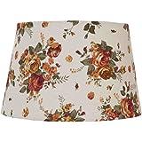 franz/ösische Better /& Best 0208253/ 25/cm mit Motiv von Blumen auf gelb Hintergrund klar /Lampenschirm