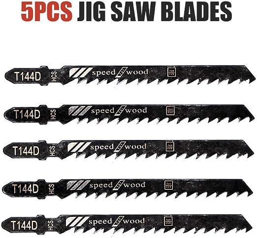 5 x Jigsaw Blades T Shank Metal T118A AEG Bosch Dewalt Hitachi Makita