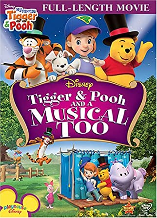 Amazon my friends tigger pooh and a musical too my friends my friends tigger pooh and a musical too thecheapjerseys Image collections