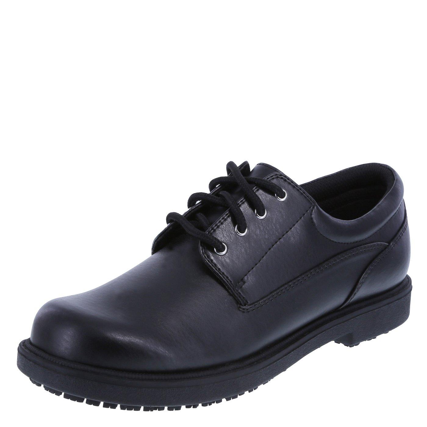 safeTstep Slip Resistant Women's Black Women's Deidre Oxford 5 Wide