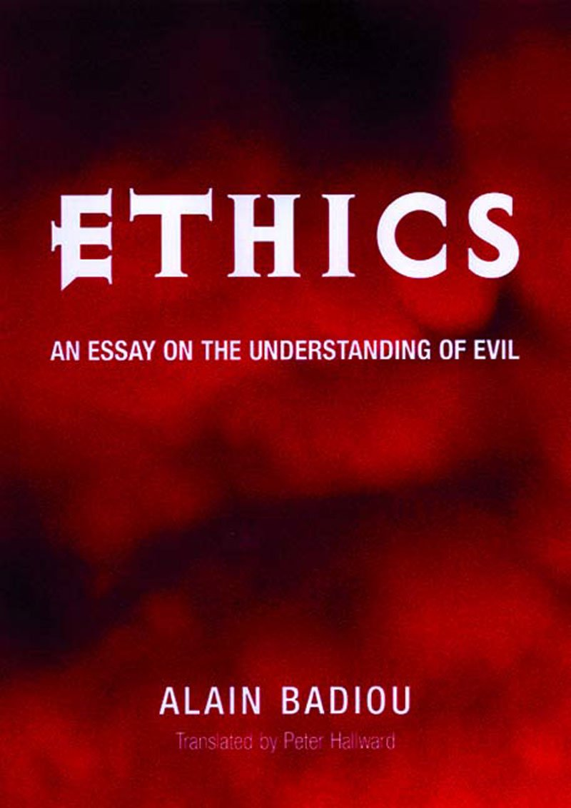 Download Ethics: An Essay on the Understanding of Evil PDF