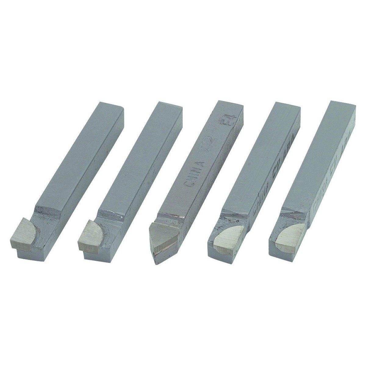 D-4 MICRO 100 Steel w// Carbide Tip Brazed Tool Bit,D,2 In L,1//4 In W