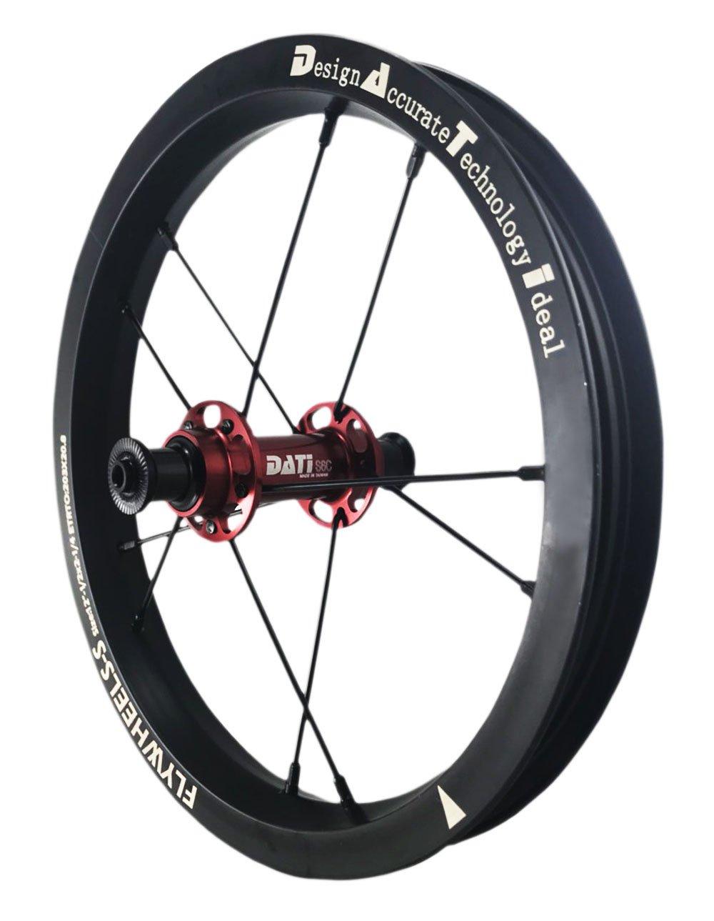 DATI 12インチ S6C-W Alloy バランスバイク Kids Balance Bike Bicycle Super light 子供自転車ホイール B07BLZ3545 95x8mm for Strider|赤 赤 95x8mm for Strider