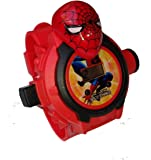 Rvold 24 Images Spiderman Projector Watch - Best Digital Toy Watch for Boys and Girls - Color May Vary