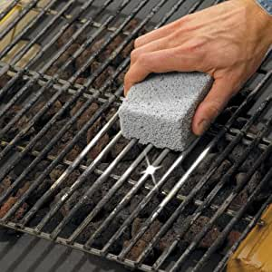 EarthStone GrillStone Grill Eco Cleaning Blocks (Set of 4) Made Of Recycled Products
