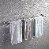 #2: KES 32-Inch Towel Bar Bathroom Shower Organization Bath Single Towel Hanger Holder Brushed SUS 304 Stainless Steel Finish, A2000S80-2