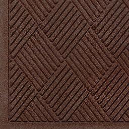 Andersen 221 Waterhog Fashion Diamond Polypropylene Fiber Entrance Indoor/Outdoor Floor Mat, SBR Rubber Backing, 4\' Length x 3\' Width, 3/8\