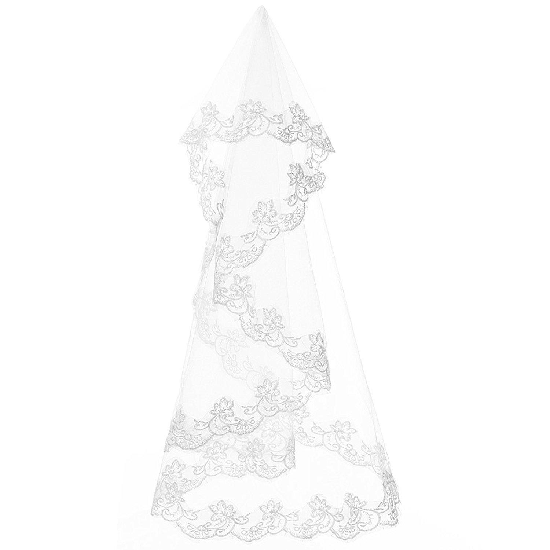 SZMX DRESS レディース One Size White Veil B078TFTPBD