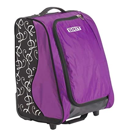 "Grit Skate Tower Bag - 20"" Tower Bag for Figure Skating - Purple"