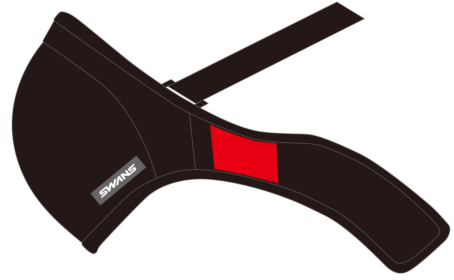SWANS SSM-004M sport mask BK (black) SM size SSM-004M
