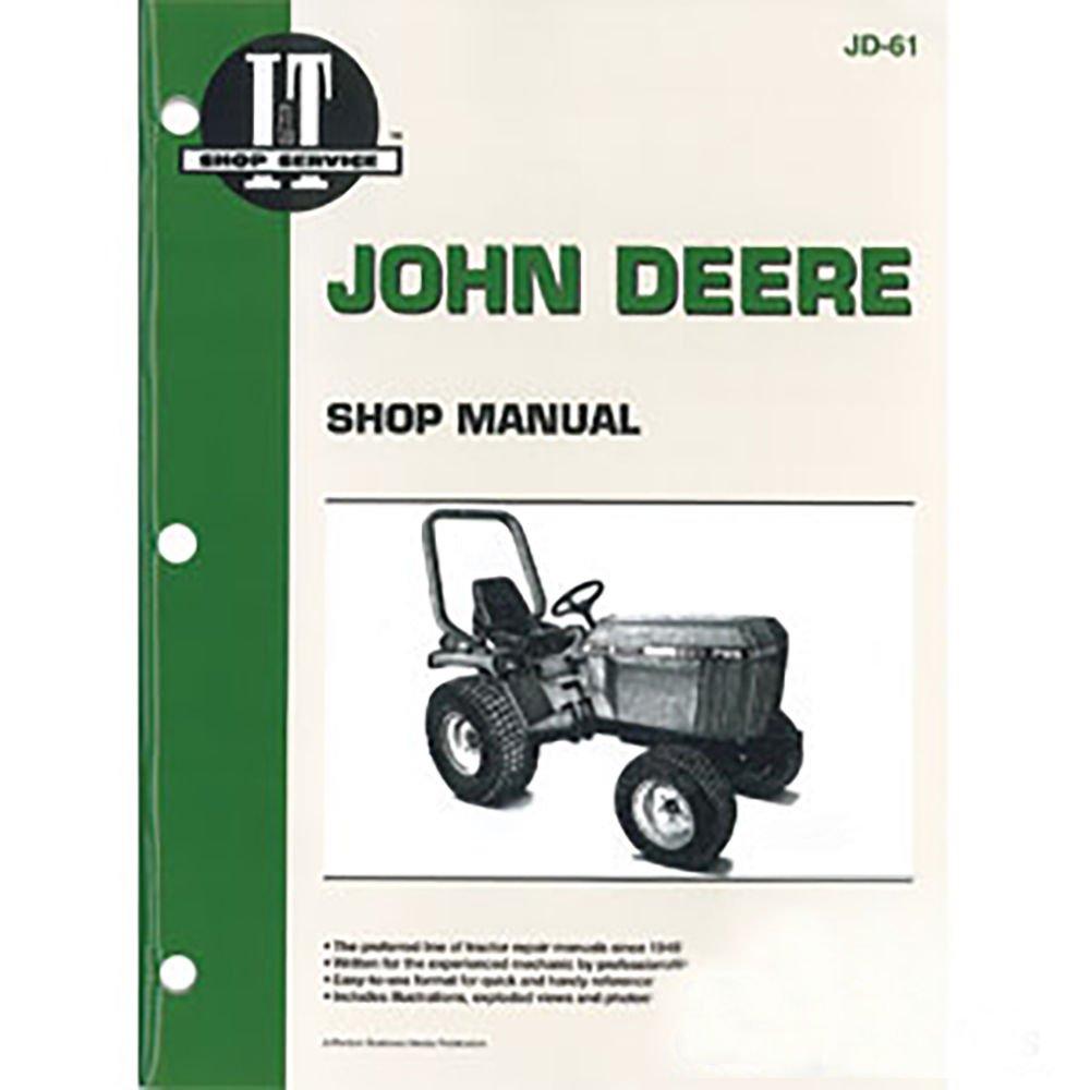 Amazon.com: JD61 New John Deere Compact Tractor Shop Manual 655 755 756 855  856 955: Industrial & Scientific