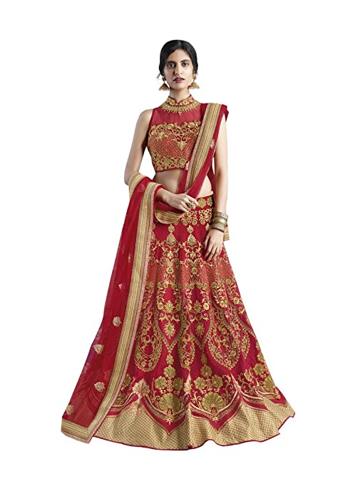 N143 - Wedding Lehenga Choli Lehenga Cholis at amazon