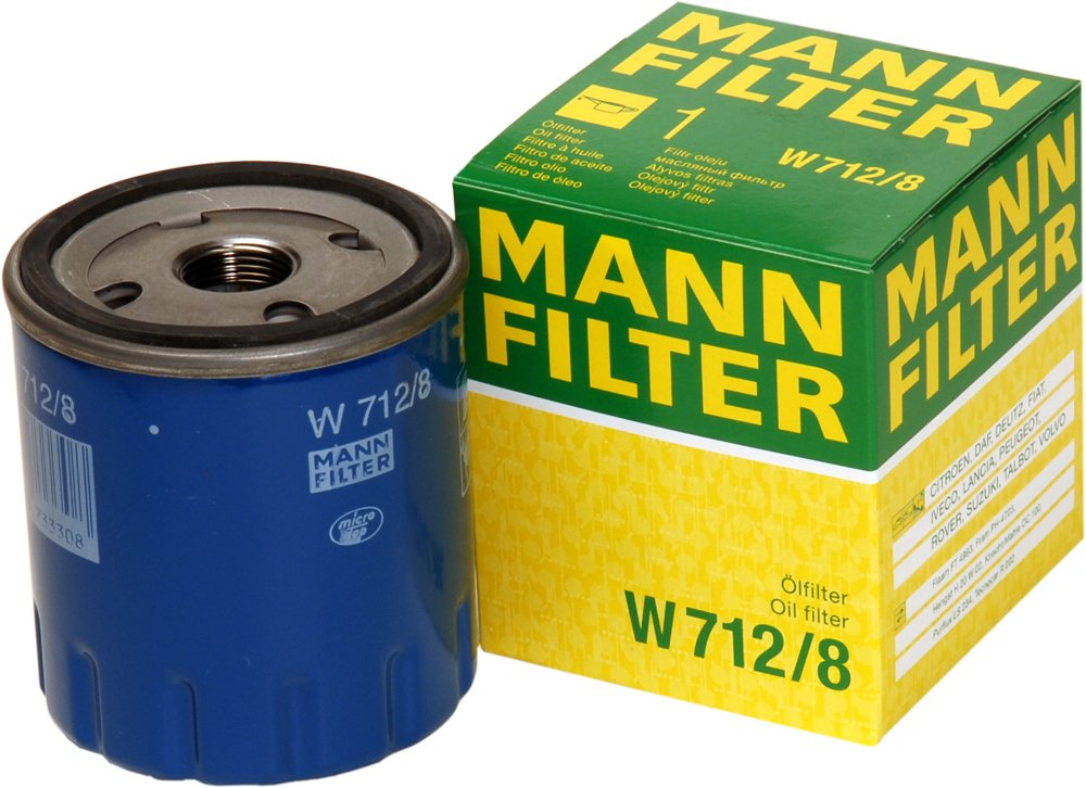 Mann Filter W 712//8 Filtro de Aceite