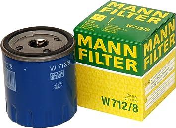 Mann Filter W 712/8 Filtro de Aceite