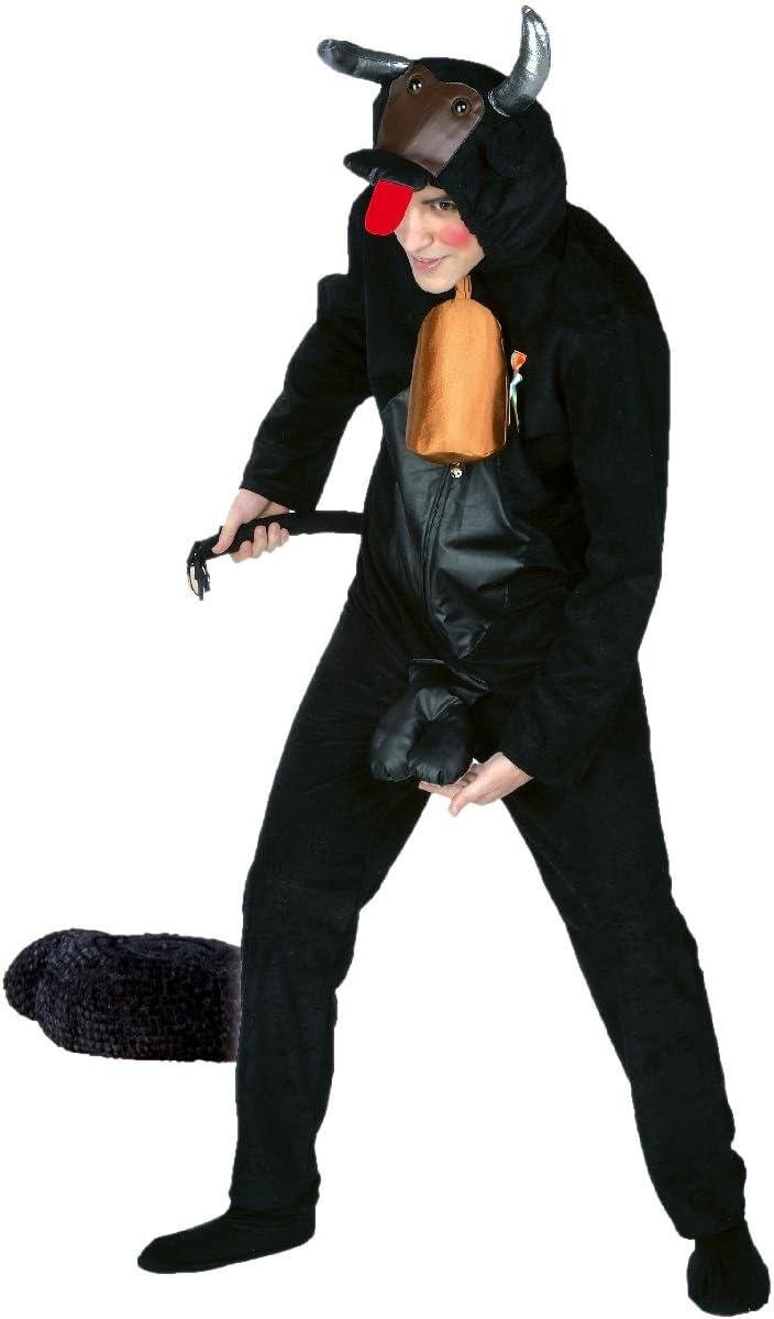 Disfraz de Toro con Atributos Talla /única de Adulto.