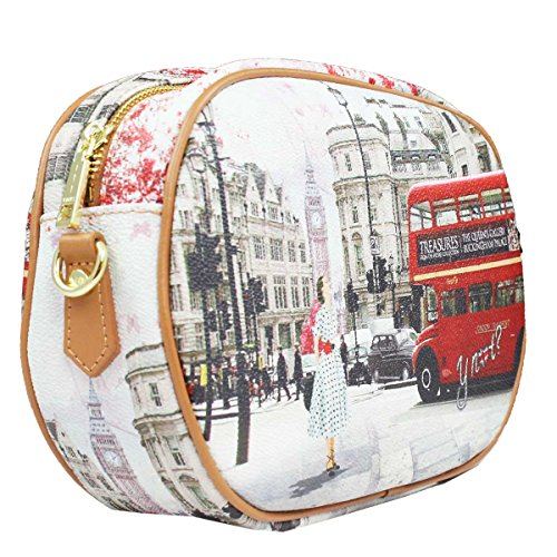 Borsa Y Not tracollina London BUS j 378