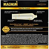 MAGNUM Large Size Condoms, 36ct